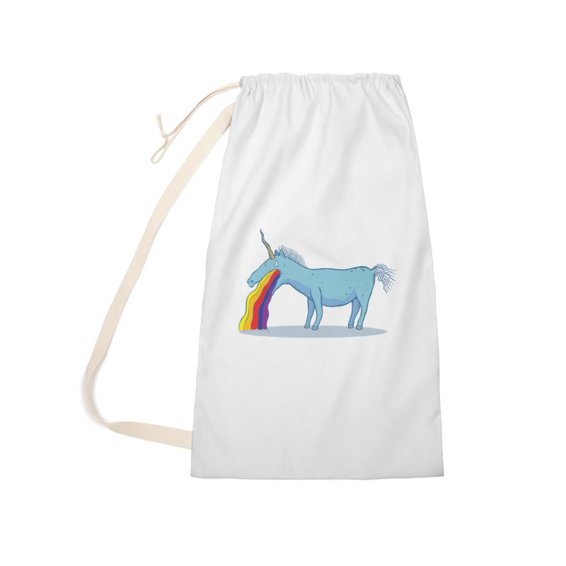 Puke-icorn Accessories Laundry Bag Bag by Magnus Blomster