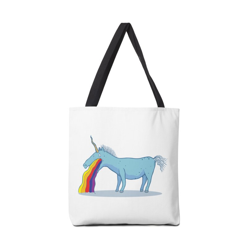 Puke-icorn Accessories Bag by Magnus Blomster
