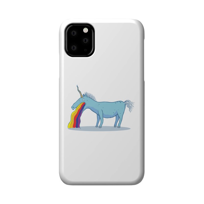 Puke-icorn Accessories Phone Case by Magnus Blomster