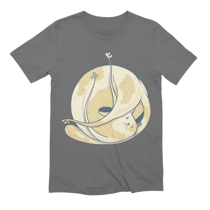 Ball of cat Men's Extra Soft T-Shirt by Magnus Blomster