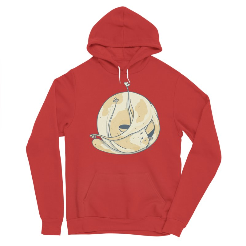 Ball of cat Men's Pullover Hoody by Magnus Blomster