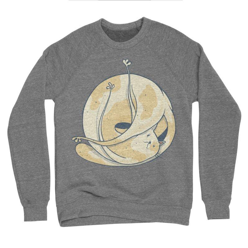 Ball of cat Women's Sponge Fleece Sweatshirt by Magnus Blomster