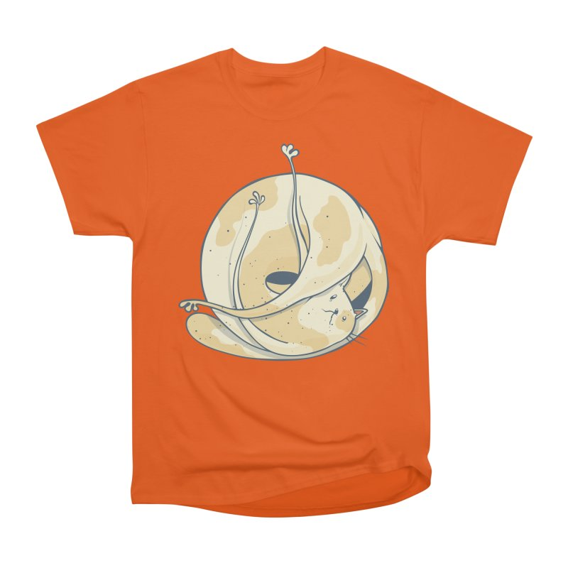 Ball of cat Men's T-Shirt by Magnus Blomster