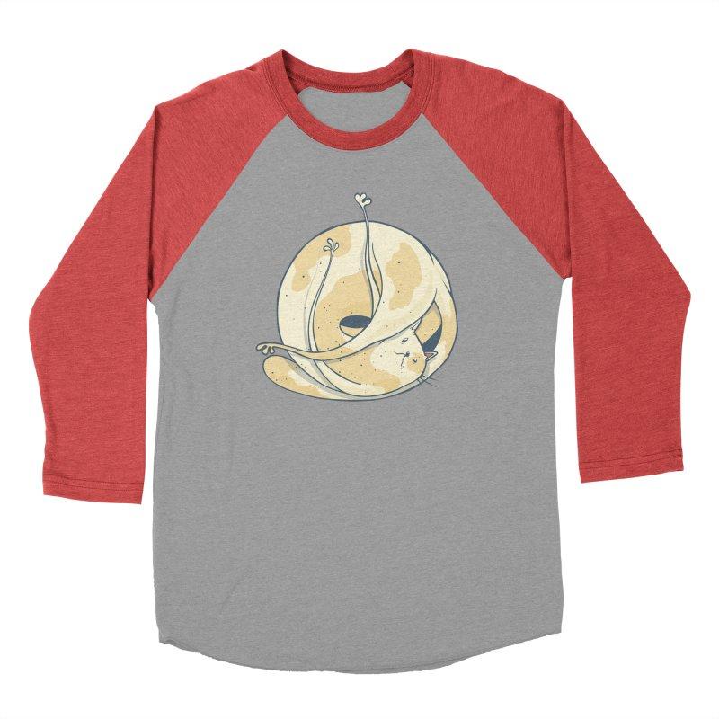 Ball of cat Men's Longsleeve T-Shirt by Magnus Blomster