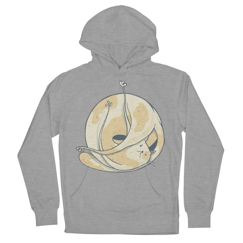 Ball of cat Men's French Terry Pullover Hoody by Magnus Blomster