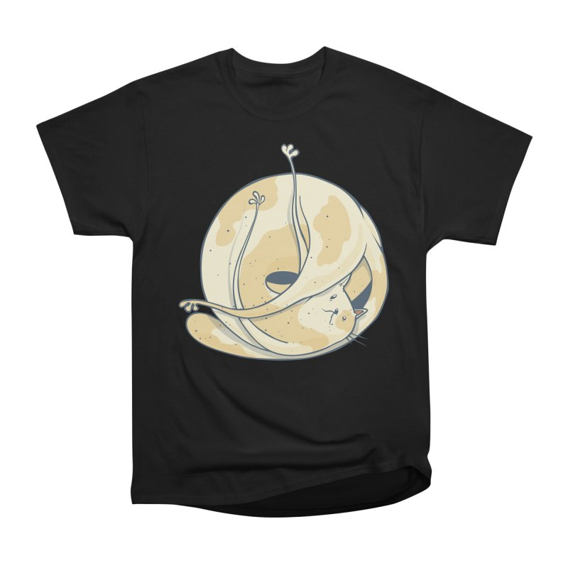 Ball of cat Men's Heavyweight T-Shirt by Magnus Blomster