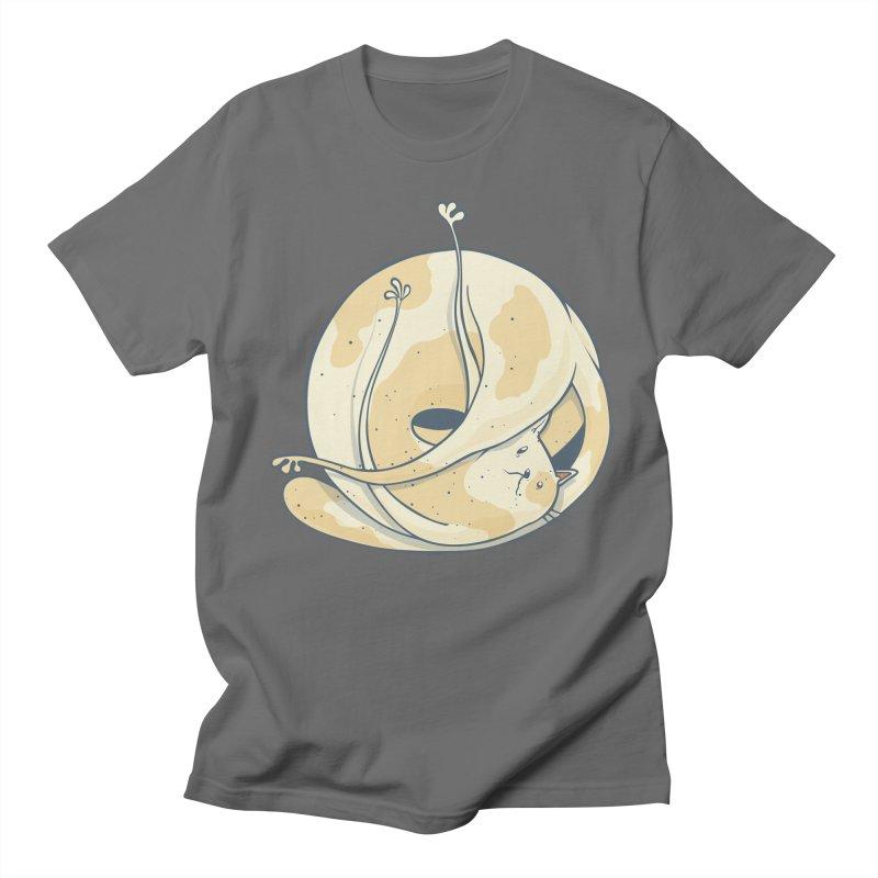Ball of cat Women's Regular Unisex T-Shirt by Magnus Blomster