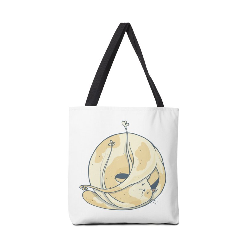 Ball of cat Accessories Tote Bag Bag by Magnus Blomster