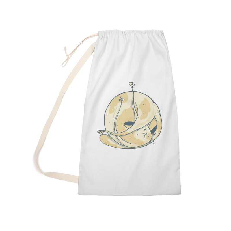 Ball of cat Accessories Laundry Bag Bag by Magnus Blomster