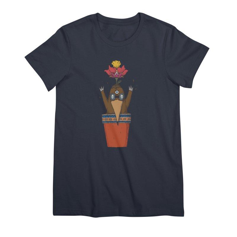 Flowepot mole Women's Premium T-Shirt by Magnus Blomster