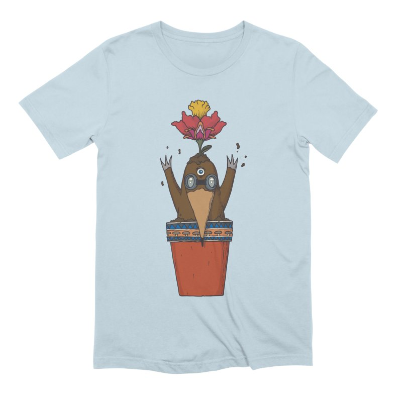 Flowepot mole Men's Extra Soft T-Shirt by Magnus Blomster
