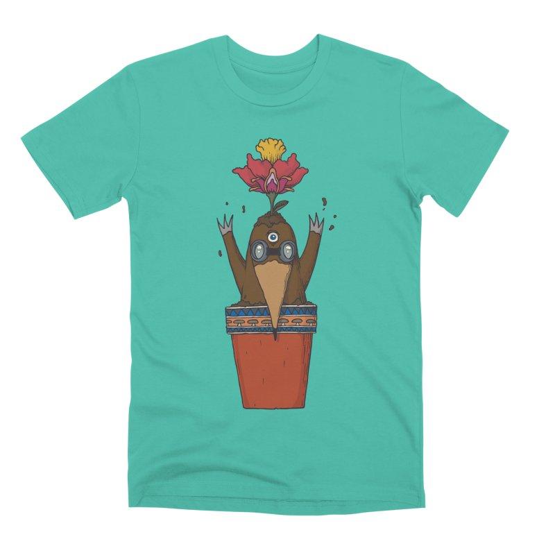 Flowepot mole Men's Premium T-Shirt by Magnus Blomster