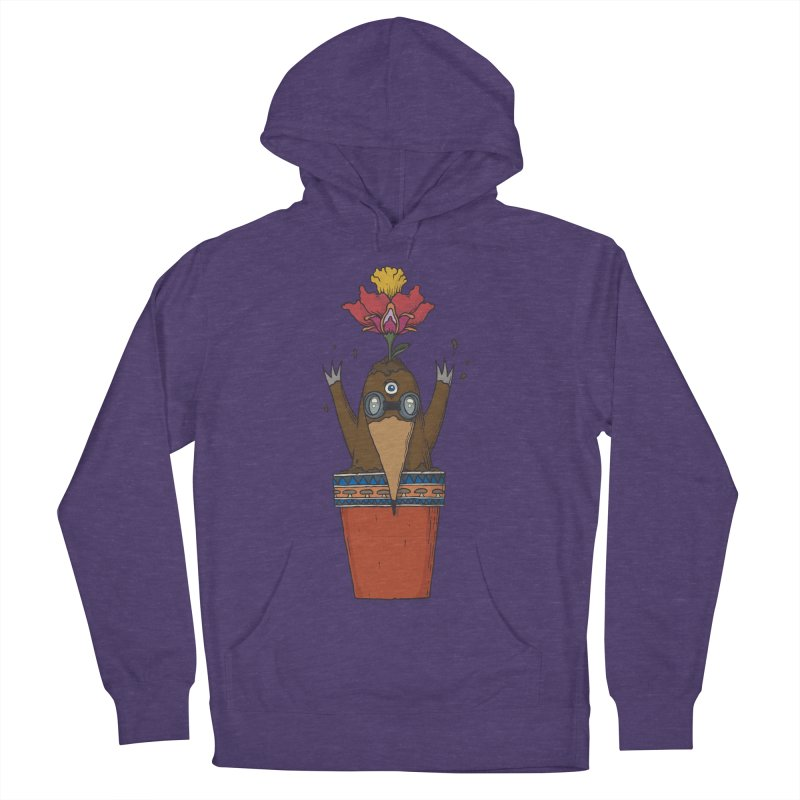 Flowepot mole Women's French Terry Pullover Hoody by Magnus Blomster