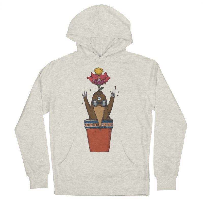 Flowepot mole Men's French Terry Pullover Hoody by Magnus Blomster