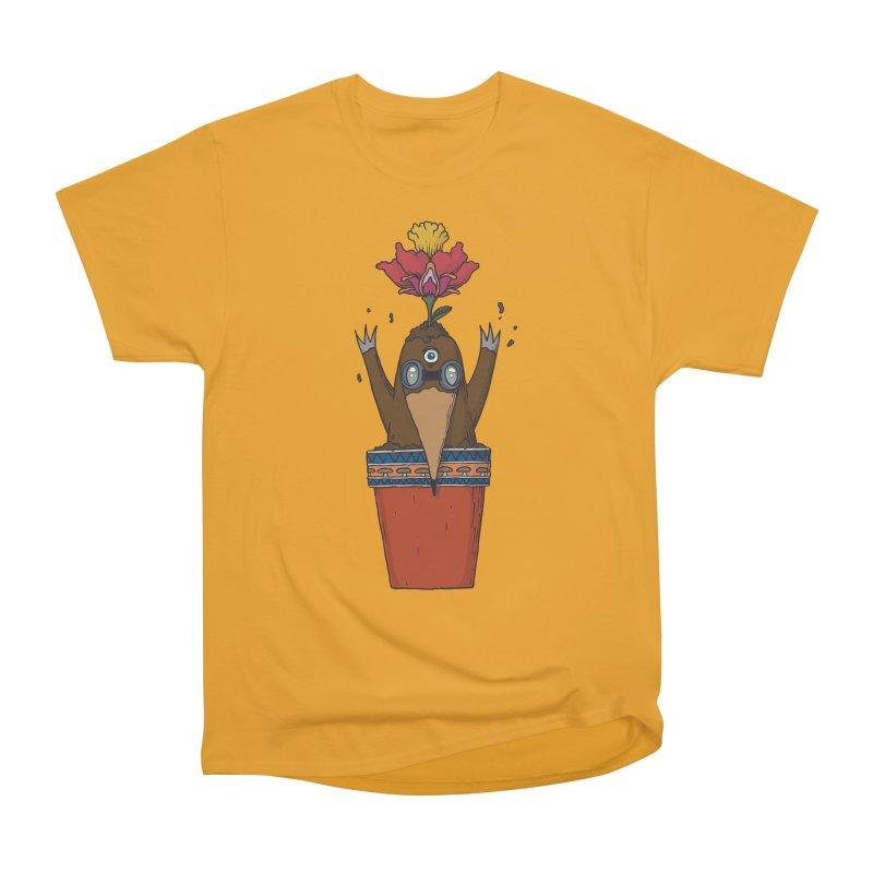 Flowepot mole Men's Heavyweight T-Shirt by Magnus Blomster