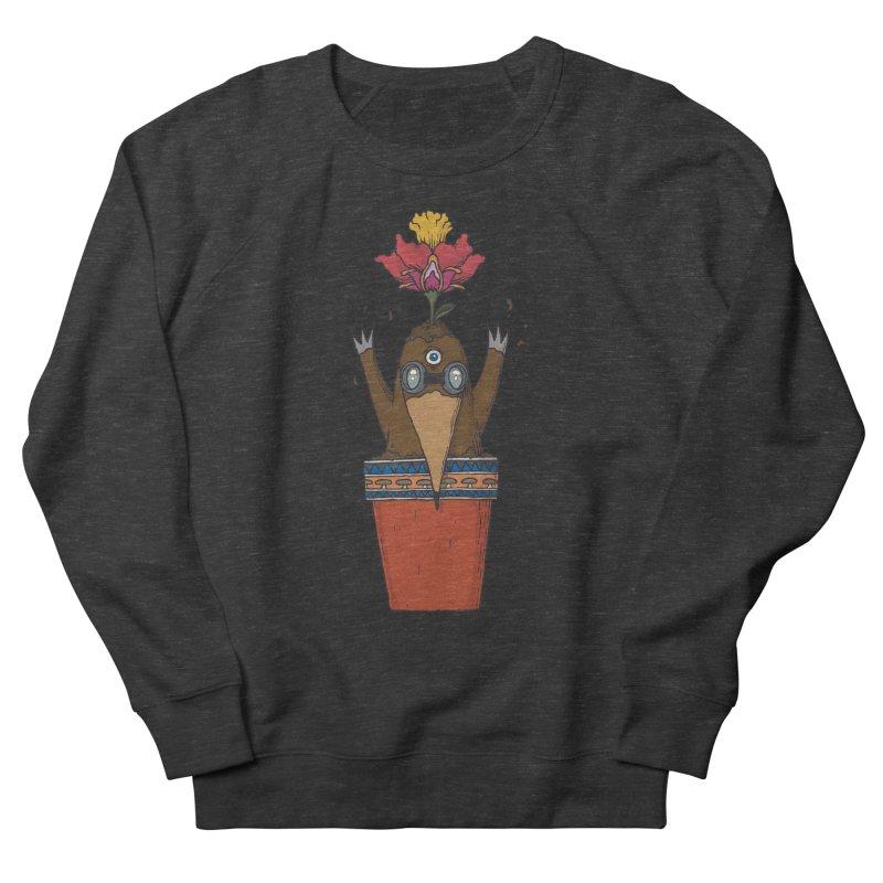 Flowepot mole Men's French Terry Sweatshirt by Magnus Blomster