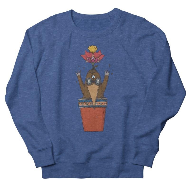 Flowepot mole Men's Sweatshirt by Magnus Blomster