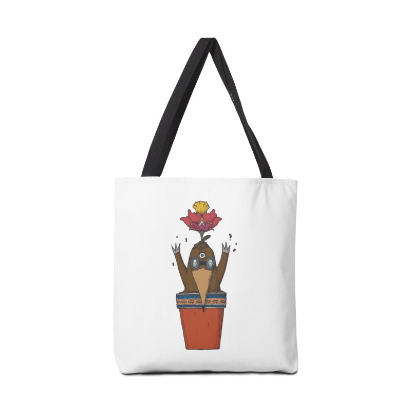 Flowepot mole Accessories Tote Bag Bag by Magnus Blomster
