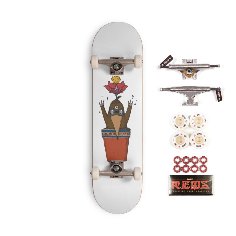 Flowepot mole Accessories Complete - Pro Skateboard by Magnus Blomster