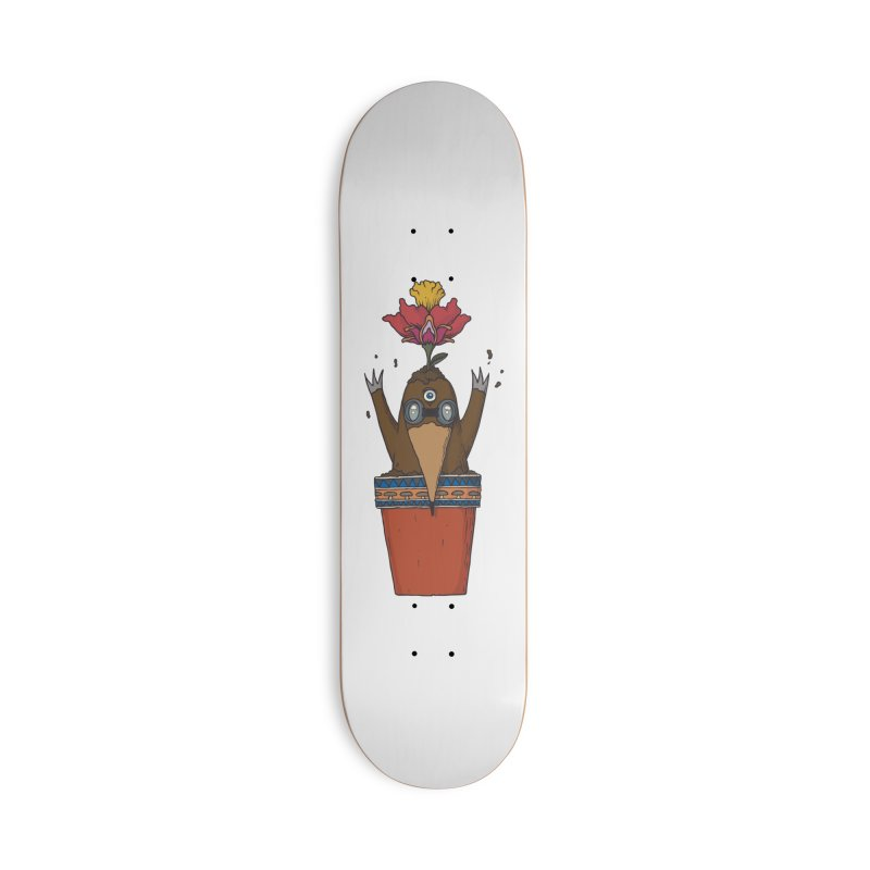 Flowepot mole Accessories Deck Only Skateboard by Magnus Blomster