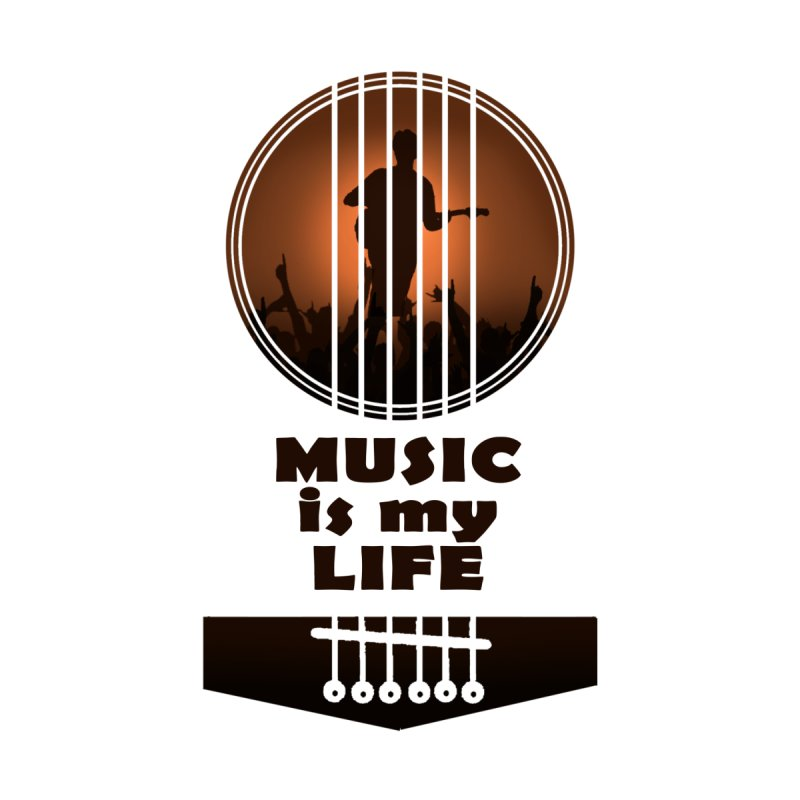 Music is my life by mahithmohan's Artist Shop