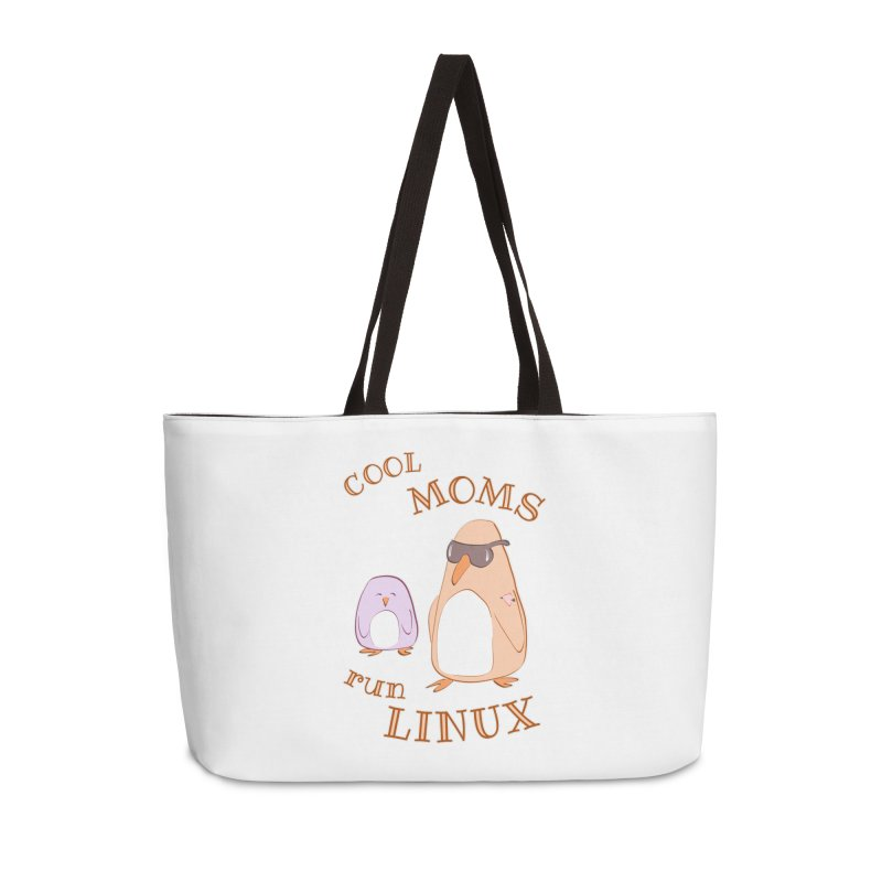 Cool Moms Run Linux Accessories Bag by Art by Maija R