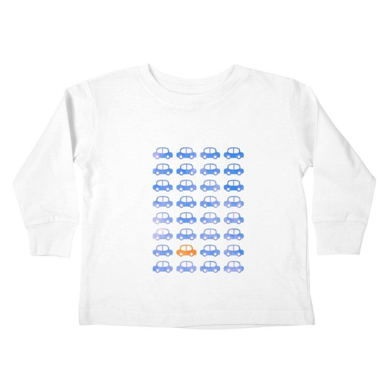 Don't feel blue Kids Toddler Longsleeve T-Shirt by Art by Maija R