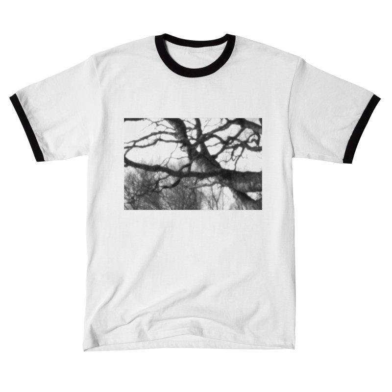 Old Birch Tree - pinhole photograph Men's T-Shirt by Art by Maija R