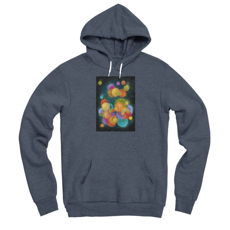 Colorful spheres Fitted Pullover Hoody by Art by Maija R