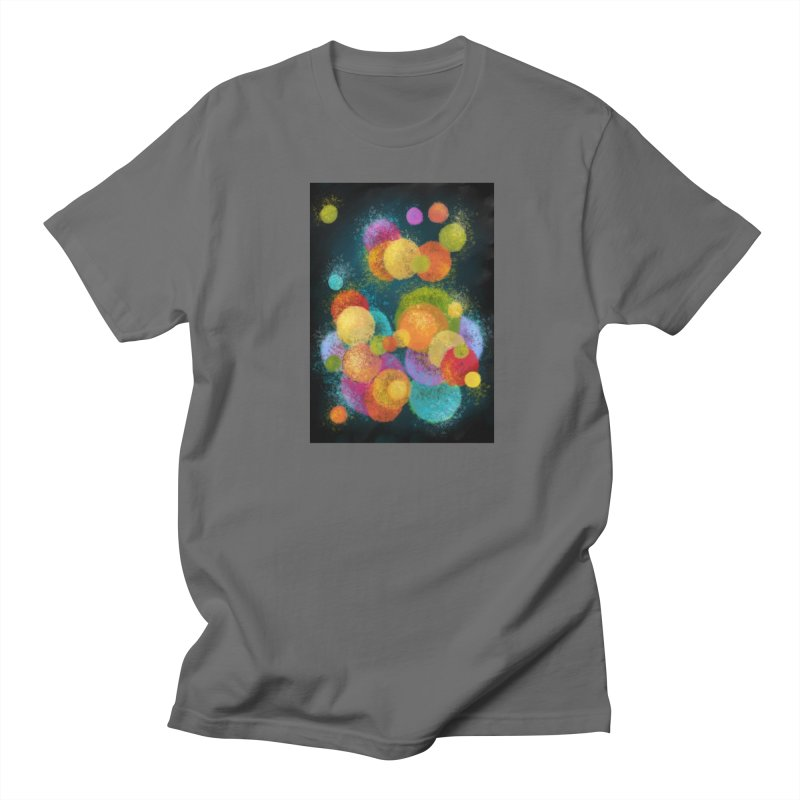 Colorful spheres Men's T-Shirt by Art by Maija R
