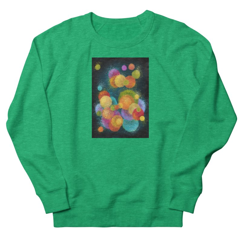 Colorful spheres Fitted Sweatshirt by Art by Maija R