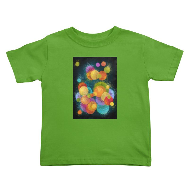 Colorful spheres Kids Toddler T-Shirt by Art by Maija R