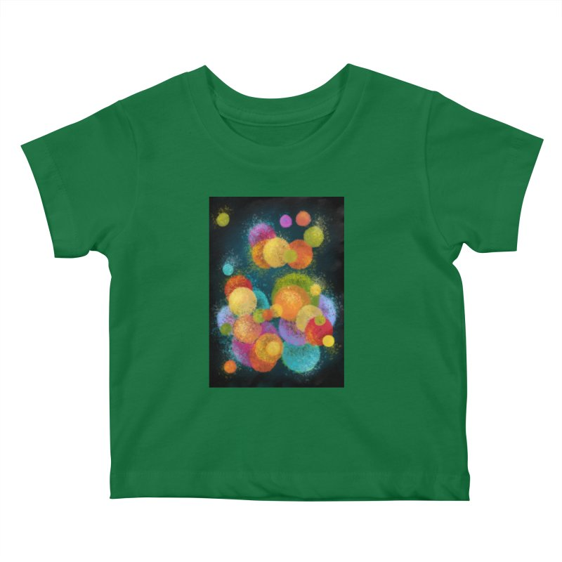 Colorful spheres Kids Baby T-Shirt by Art by Maija R