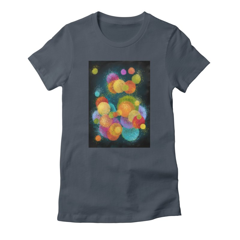 Colorful spheres Fitted T-Shirt by Art by Maija R