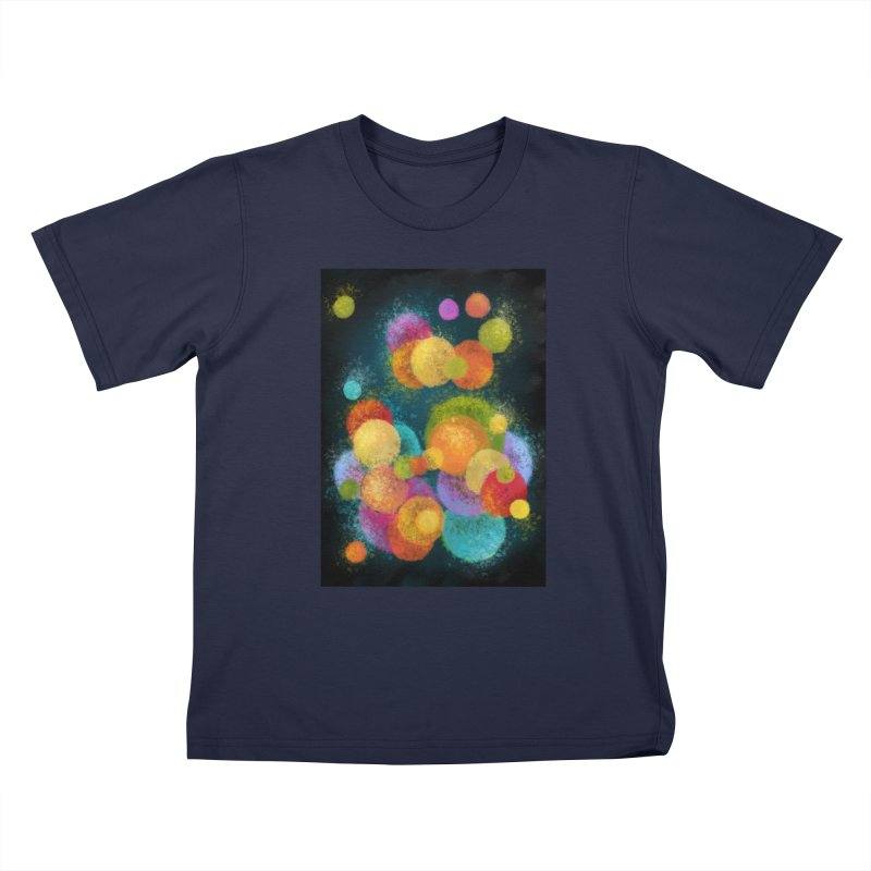 Colorful spheres Kids T-Shirt by Art by Maija R