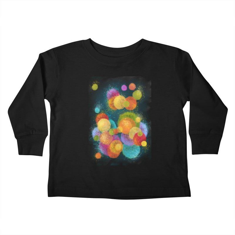 Colorful spheres Kids Toddler Longsleeve T-Shirt by Art by Maija R