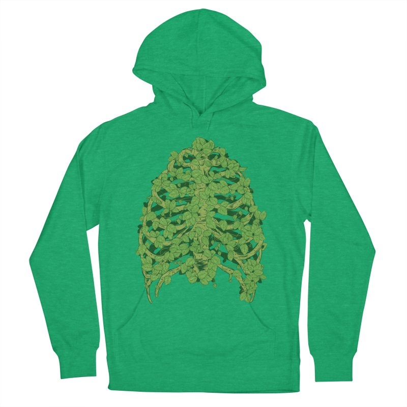 Greenery Ribs Men's Pullover Hoody by mainial's Artist Shop