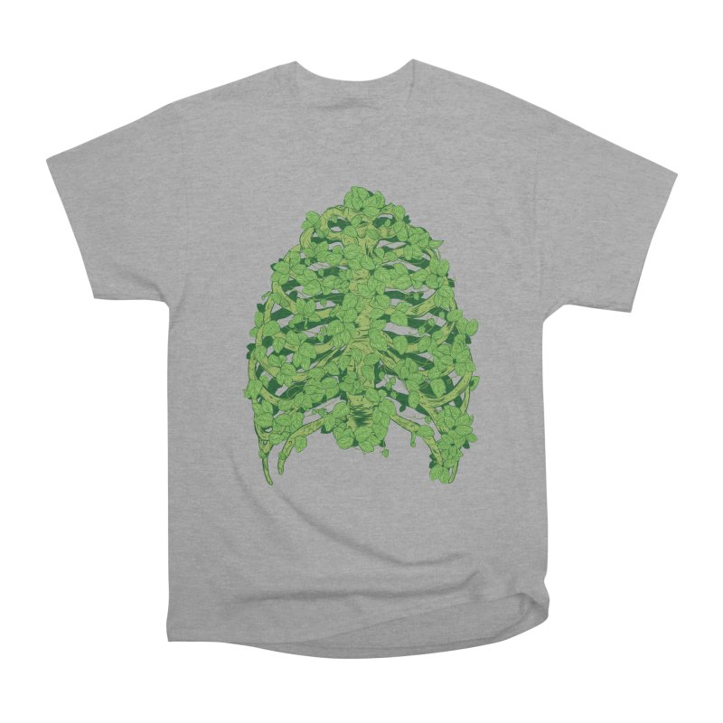 Greenery Ribs Men's Classic T-Shirt by mainial's Artist Shop