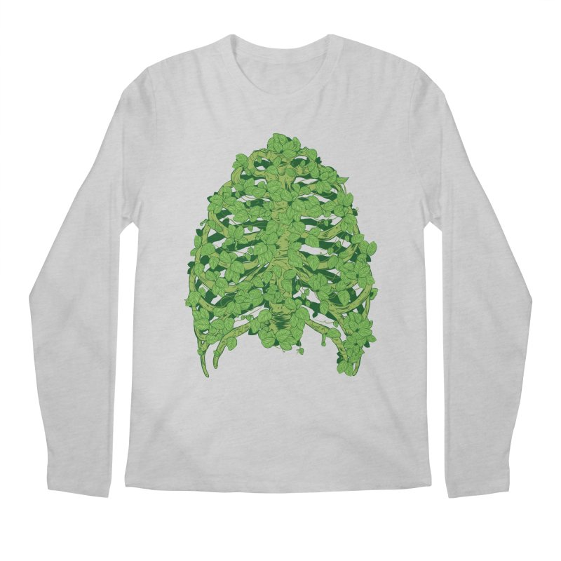 Greenery Ribs Men's Regular Longsleeve T-Shirt by mainial's Artist Shop