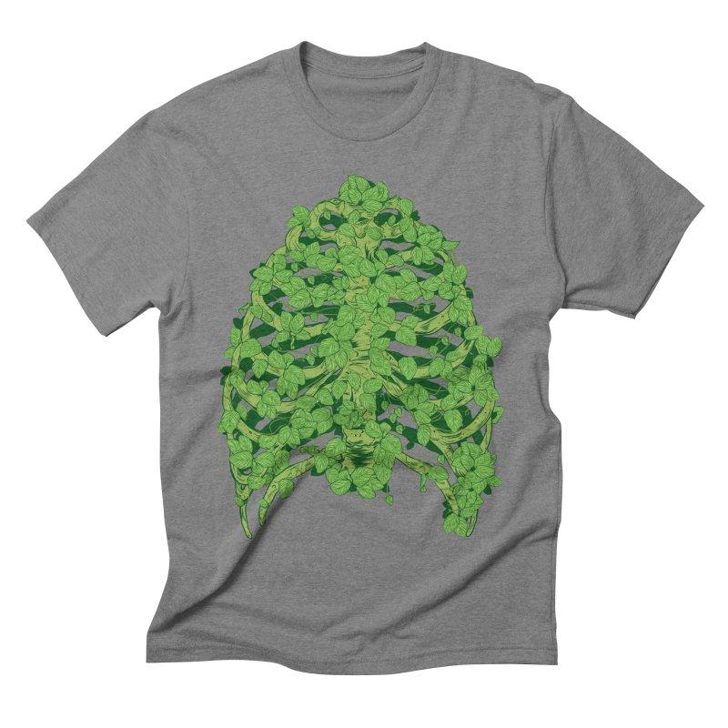 Greenery Ribs Men's Triblend T-shirt by mainial's Artist Shop