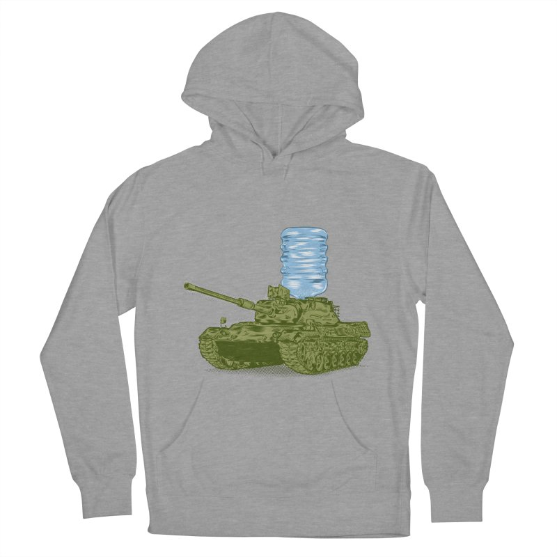 Water Tank Men's Pullover Hoody by mainial's Artist Shop
