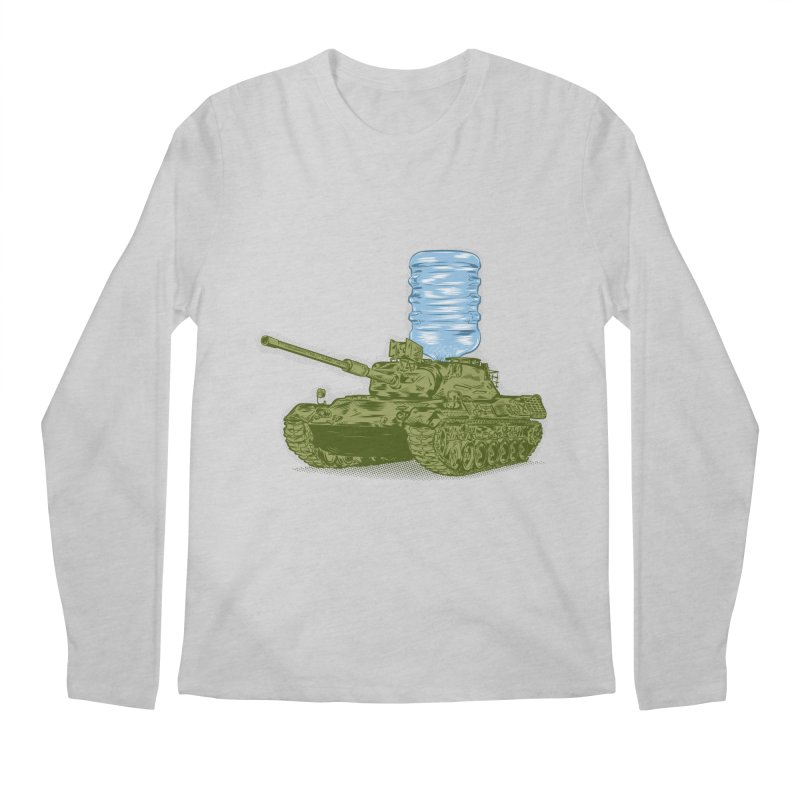 Water Tank Men's Regular Longsleeve T-Shirt by mainial's Artist Shop