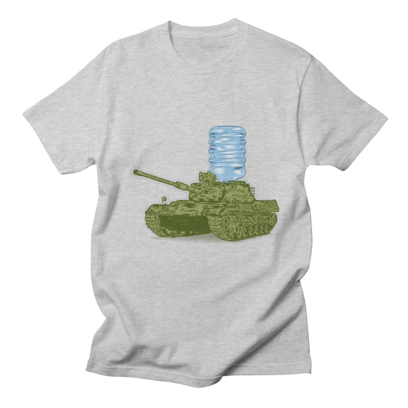 Water Tank Men's T-shirt by mainial's Artist Shop