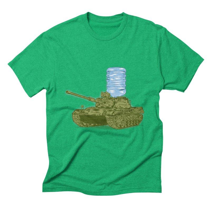 Water Tank Men's Triblend T-shirt by mainial's Artist Shop
