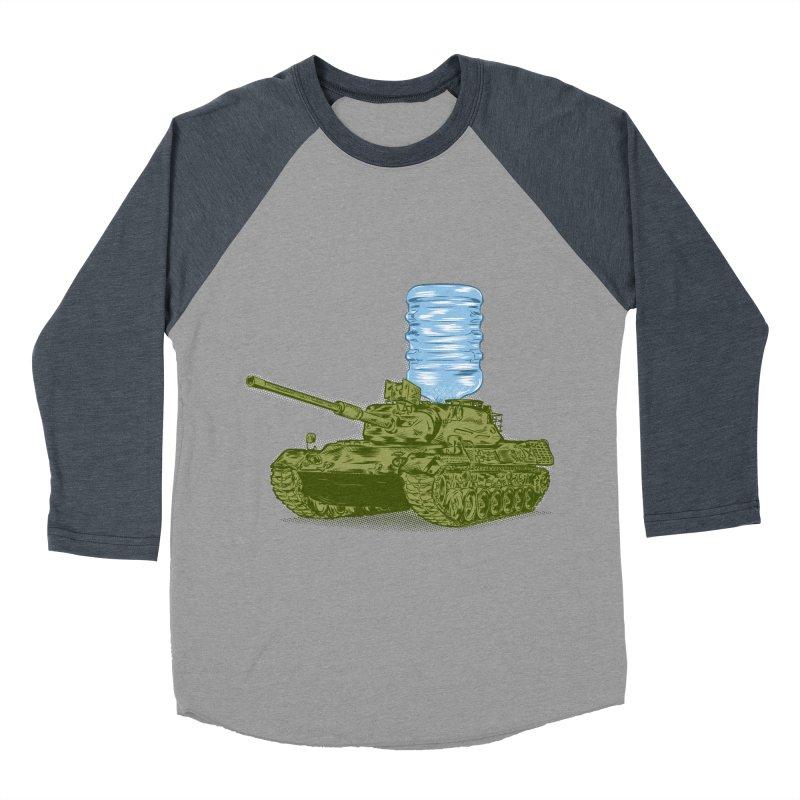 Water Tank Men's Baseball Triblend T-Shirt by mainial's Artist Shop
