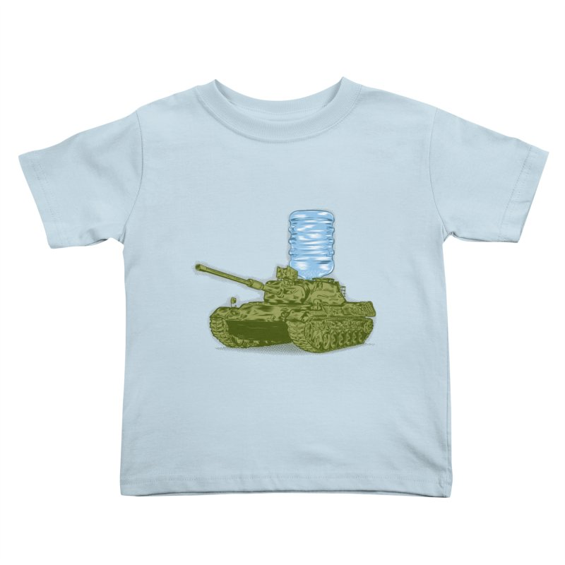 Water Tank Kids Toddler T-Shirt by mainial's Artist Shop