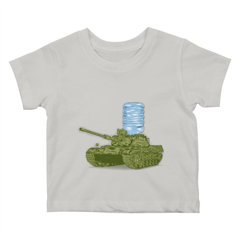 Water Tank Kids Baby T-Shirt by mainial's Artist Shop