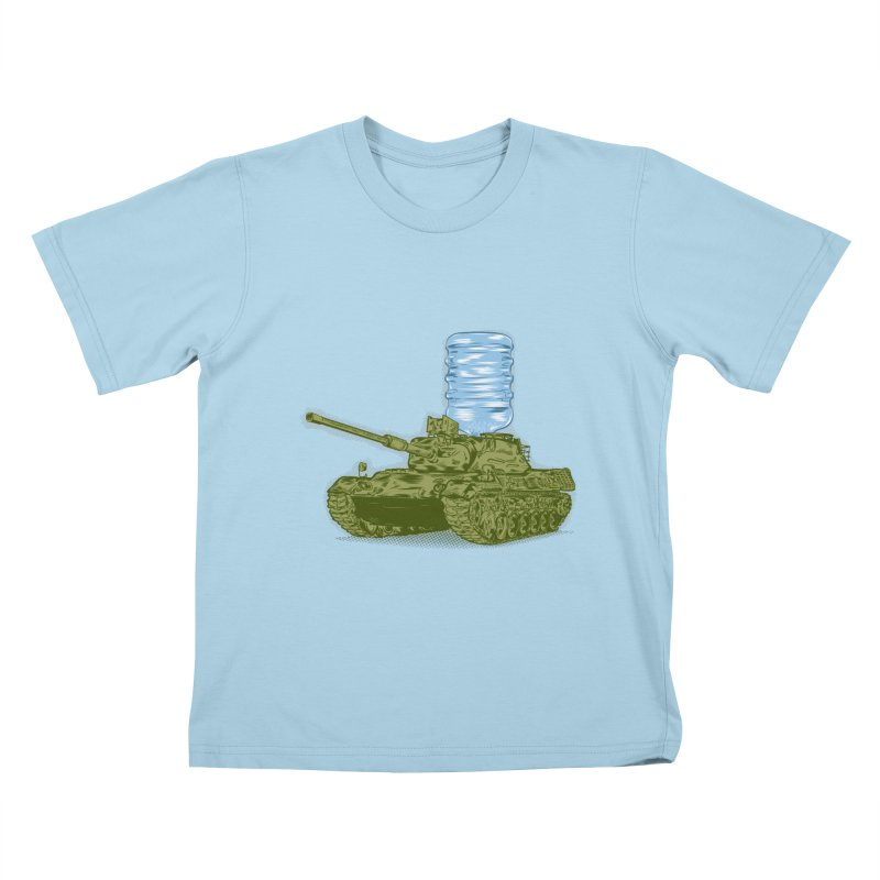Water Tank Kids T-Shirt by mainial's Artist Shop