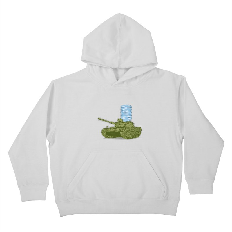 Water Tank Kids Pullover Hoody by mainial's Artist Shop