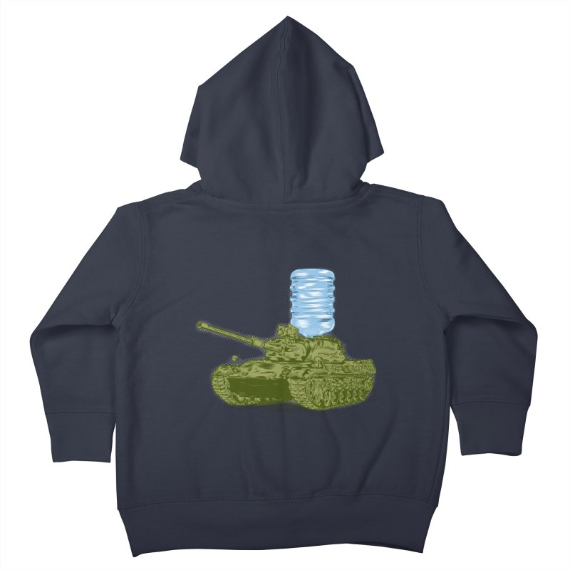 Water Tank Kids Toddler Zip-Up Hoody by mainial's Artist Shop